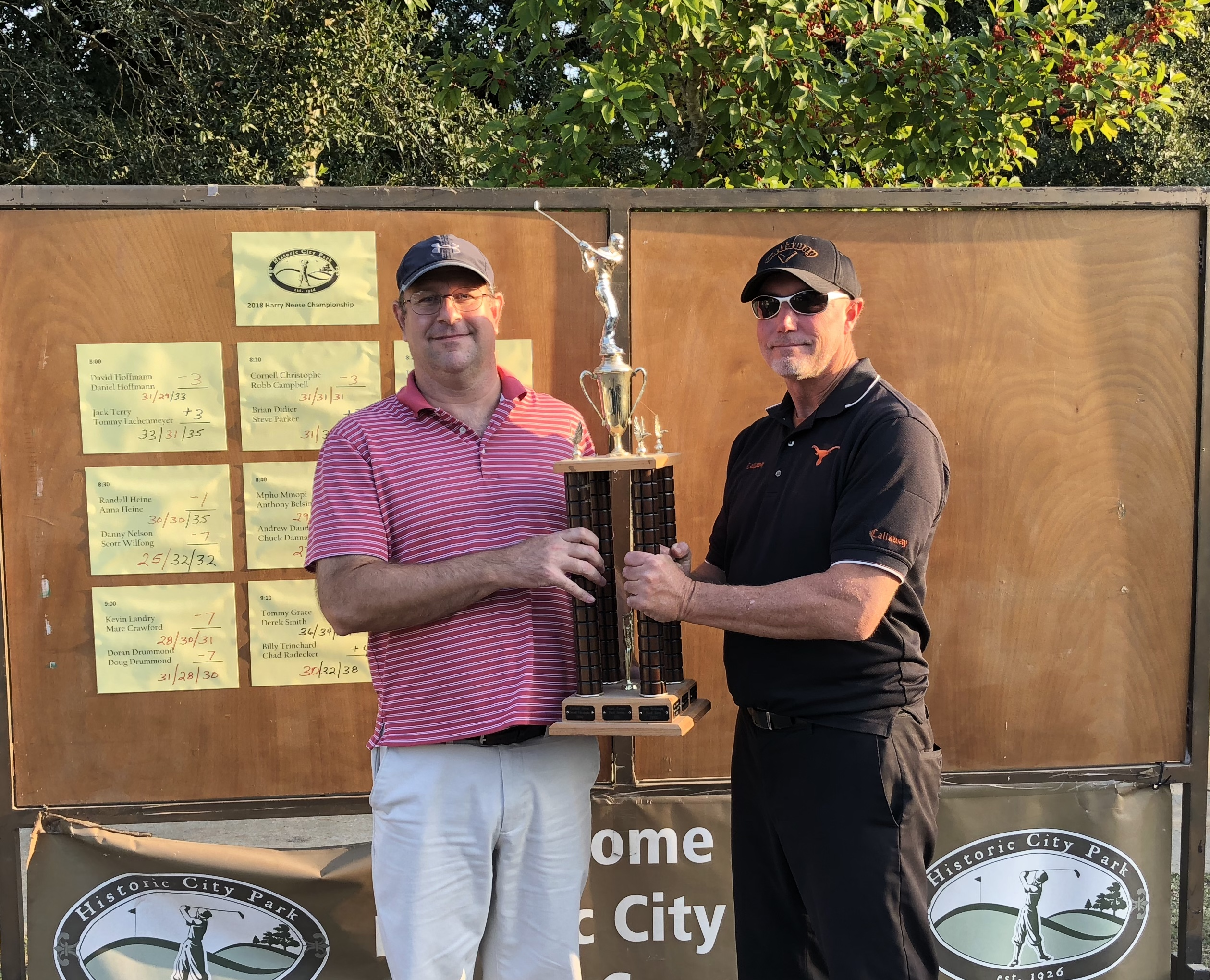 2018 Harry Neese Memorial – Tournament Results