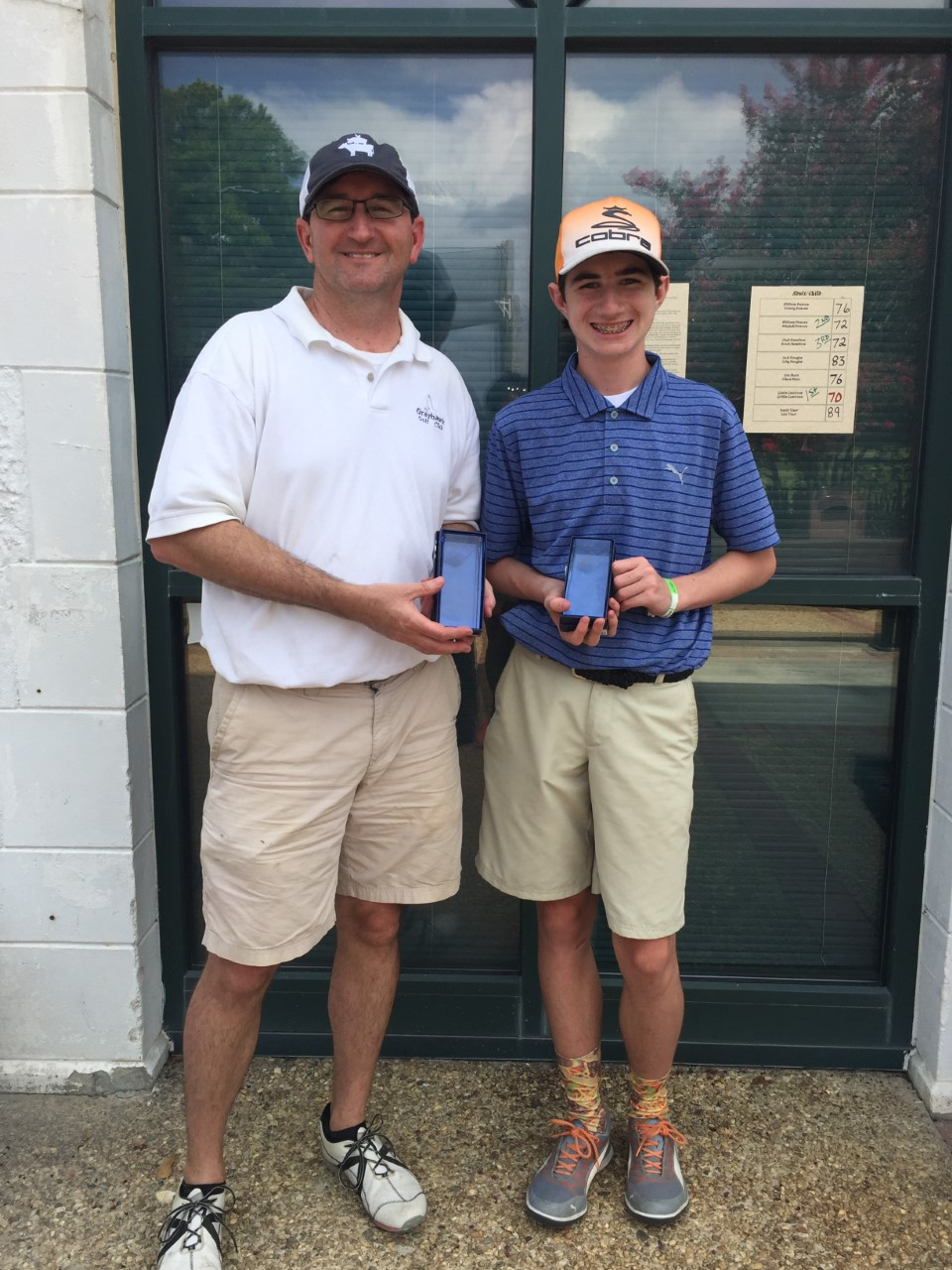 2019 Parent/Child 13-17 – Tournament Results